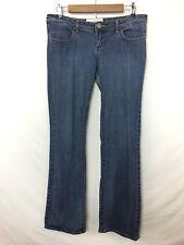 Fox Racing Junior's Slim Boot Medium Wash Jeans! Fox Logo on Thigh Seam. Size 9!