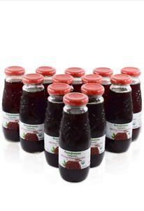 100% Pomegranate Juice 12 Pack,6,76 Oz-USDA Organic