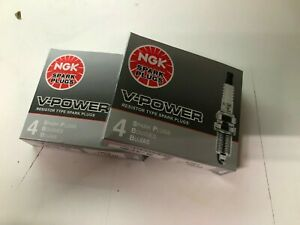 NGK UR4 6630 V POWER SPARK PLUG SET 8X V8 CHEVY SBC FORD PONTIAC OLDS BUICK