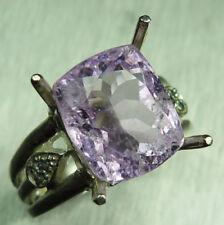 Cushion Sapphire Rose Gold Fine Gemstone Rings