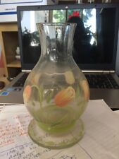 Princess House Cottage Tulip Water Carafe Made In Romania