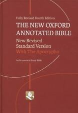 The New Oxford Annotated Bible with the Apocrypha (2010, Hardcover, Revised,...