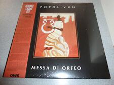 POPOL VUH - Messa Di Orfeo - LP lim. orange Vinyl  ///// Neu &OVP