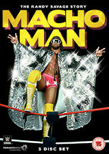 WWE - Macho Man - Randy Savage Story (DVD, 2014, 3-Disc Set) New  Region 4