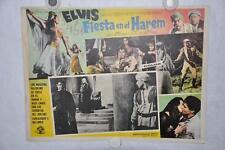 Harum Scarum 1965 Mexican Lobby Card Movie Poster Elvis Presley #5