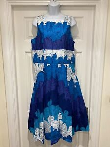 Ladies NEW PHASE EIGHT Tropicana Dress Size 16 Special Occasion Cruise RRP £100