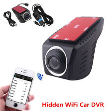 170° HD 1080P Car WiFi Hidden Camera DVR Dash Cam Video Recorder Night Vision