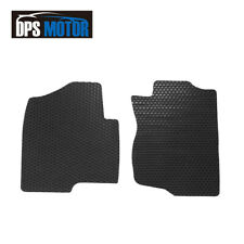 2 Pcs All Weather Floor Mats For 07-14 Chevy Tahoe Suburban Silverado Avalanche
