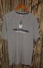 The citadel military college champion powertain sweat wicking tshirt large men