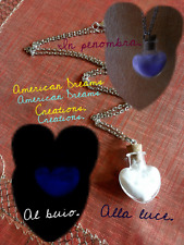 Collana con cuore. Illumina. Heart. Necklace.