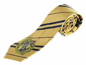 Harry Potter Hufflepuff Necktie Tie Halloween Costume USA Cosplay