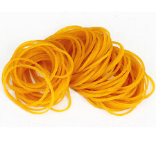 New 150pcs/pack Rubber Bands Yellow Color 38mm School Office Home Rubber Ring