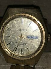 Benrus Automatic 17 Jewel Running Mens Wrist Watch