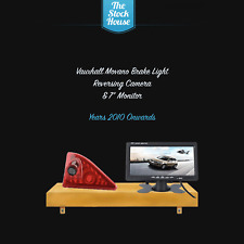 Vauxhall Movano Reversing Camera Brake Light & 7'' Monitor 2010 on Reverse Cam