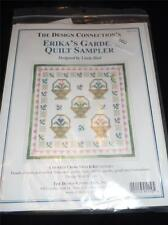 THE DESIGN CONNECTION Counted Cross Stitch Kit ERIKA'S GARDEN QUILT SAMPLER