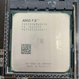 AMD FX-Series FX-8300 FD8300WMW8KHK Black Edition 8x 3,30GHz AM3+ CPU