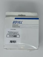 Quill 7-11483 Correctable Typewriter Ribbons 6 Pack Brother AX EM Compactronic