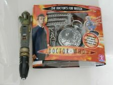 DR. WHO POCKET WATCH AND SONIC SCREWDRIVER.