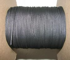 Black nylon Cord Cable String for Rigging a Wyandotte Crane Truck  7ft