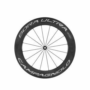 Campagnolo Laufrad Vorderrad Bora Ultra 80 Dark Tubular Rennrad Carbon