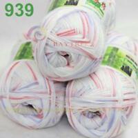 Sale Lot 3 ballsx50g Super Soft Bamboo Cotton Baby Hand Knitting Crochet Yarn 39
