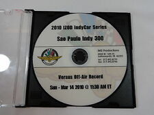 2010 IZOD IndyCar Sao Paulo Indy 300 Full Race DVD IMS Productions Power Penske