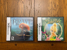 Nintendo DS Tinkerbell and Brave Mint Condition