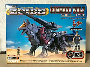 ZOIDS 024 command Wolf Irvine specification