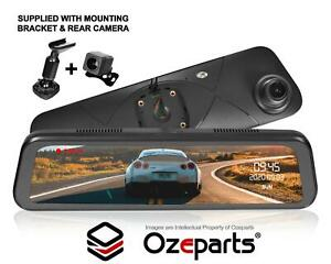 """9.6"""" 1080P Rear View Mirror Dash Reverse Camera For Ford Territory SX SY SZ"""