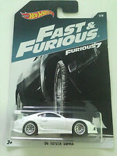 HOT WHEELS FAST & FURIOUS 2017 1:64 ´94 TOYOTA SUPRA #7/8 Walmart Exclusive