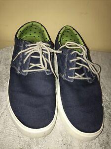 Crocs Citilane Khaki Canvas Sneaker Shoes Mens Size 10 Lace Up SN203969