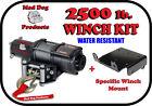 2500lb Mad Dog Winch Mount Combo Polaris ATV 11-18 Sportsman 400 450 500 570 800