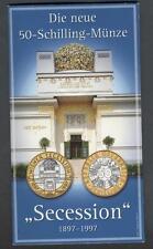 AUSTRIA 50 Schilling 1997 Secession
