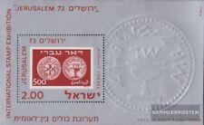 israël Bloc 12 (complète edition) neuf avec gomme originale 1974 Exposition phil