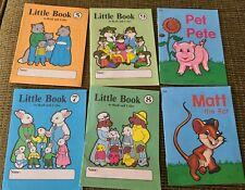 Abeka K4 Preschool Little Owl Book Set 6 Homeschool Kindergarten Readers