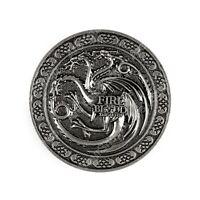 Game of Thrones House Targaryen Fire and Blood Ceinture métallique Boucle B5