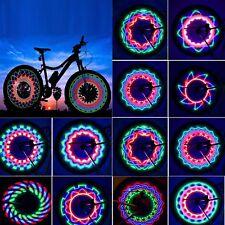 Bicycle Wheels Lights Rim Spoke Lamps LED Bike Tuning Waterproof Safety Ride DIY