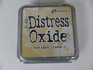 *NEW* (Ranger) TIM HOLTZ Distress OXIDE *Antique Linen* (Full Sized Ink Pad)