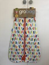 Grobag The Original 0-6 Months 1.0 Tog Cotton Baby Sleeping Bag + Thermometer