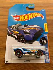Hot Wheels ~ CARBONIC CUSTOM RALLY ROADSTER ~ 2015 HW Race Team 5/10 5/250