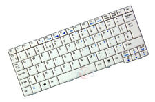 Original QWERTY Tastatur Acer Aspire One A110 A110L A110X White UK Keyboard New
