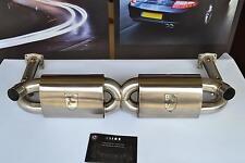 By Design/Kline Innovation 997TT/GT2 Sport X Exhaust Upgrade 911 Turbo