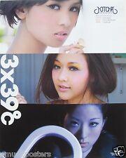 "HOTCHA ""39c - 3 SEXY SHOTS"" POSTER - Sexy Hong Kong Cantopop Music Girl Group"