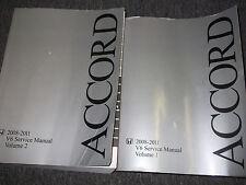 2008 2009 2010 Honda Accord V6 V-6 Service Shop Repair Manual SET FACTORY