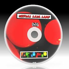 RELAX TO VIRTUAL LAVA LAMP ON TV MULTI COLOUR EFFECTS A GREAT SLEEP AID NEW DVD