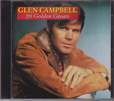 GLEN CAMPBELL - 20 GOLDEN GREATS  - CD  - NEW -