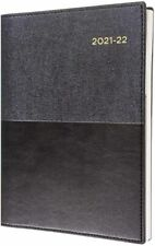 Collins Vanessa 2021 - 2022 Financial Year Diary A4 Week to View Black Fy345