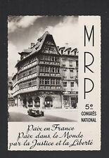 STRASBOURG (67) CONGRES NATIONAL MRP / CINEMA Zeiss Crumiere & Maison KAMMERZELL
