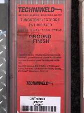 """40 Pieces 2% Thoriated TIG Welding Tungsten Electrodes 3/32"""""""
