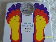 Health-O-Meter-Kids Weight Scale-w/ Shoe Chart-Sunbeam 2003 ~Model Hab020 ~ Cute